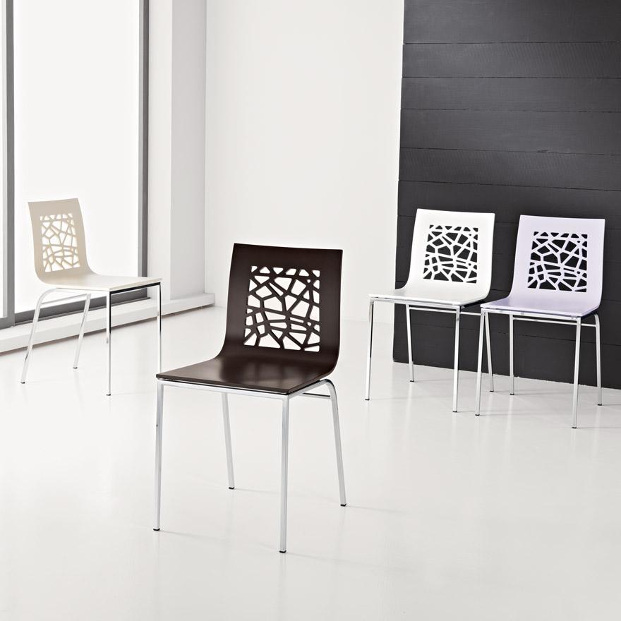 Sedie Moderne in Multistrato