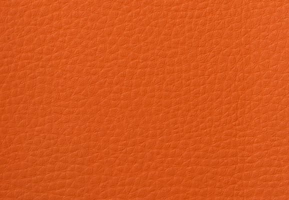 orange imitation leather