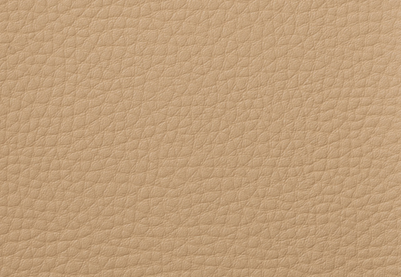 Cream imitation leather